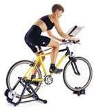 pictures of Indoor Stationary Bike Trainer Exercise Bicycle Stand