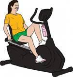 Exercise Bikes Clip Art photos